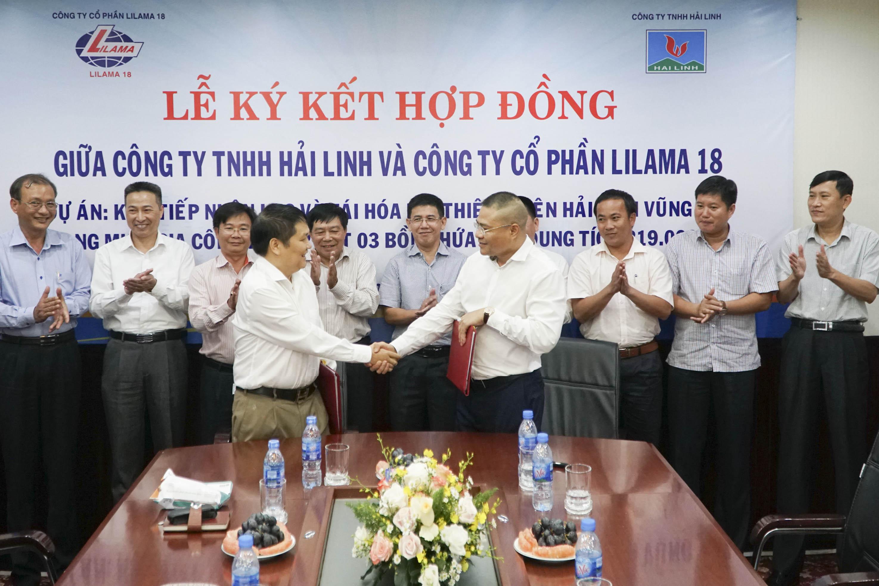Lilama 18 ký hợp đồng thi công dự án kho tiếp nhận LNG và tái hóa khí thiên nhiên